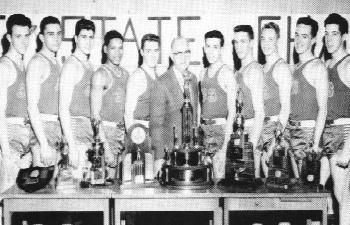 Wampum High School 1954-55 state championship team