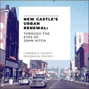 book cover of new castle's urban renewal through the eyes of john hitch