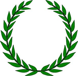 laurel wreath symbol for award