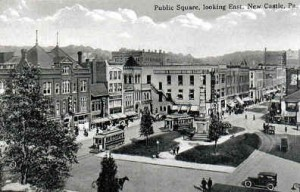 Public Square in New Castle