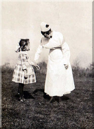 Nurse in early 20th century