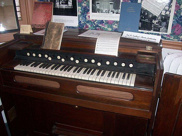 ira sankey organ