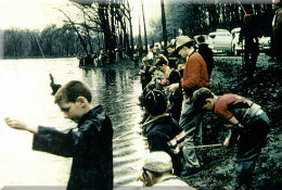 Fishing at Cascade Park 1950s
