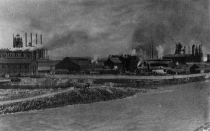 Carnegie Steel Mill and Furnaces, New Castle, PA