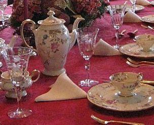 tea time china tea set