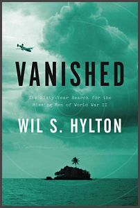 photo of book cover for vanished by will hylton