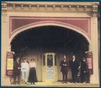 1907 New Castle PA. Warner Brothers open first cinema